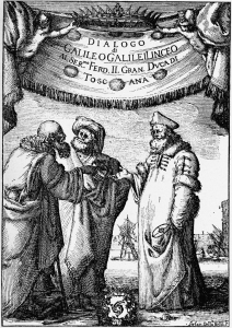 Galileo Galilei's Dialogue Concerning the Two Chief World Systems by Giovanni Battista Landini in 1632