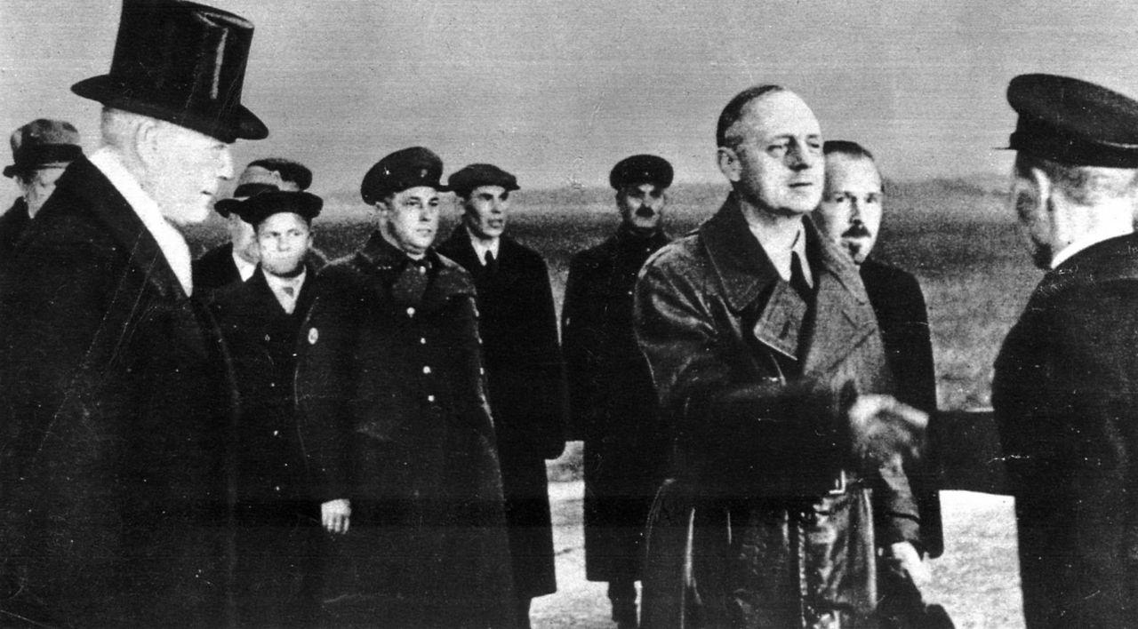 на аэродроме в Москве 30 марта 1939 фонд ЦГАКФД