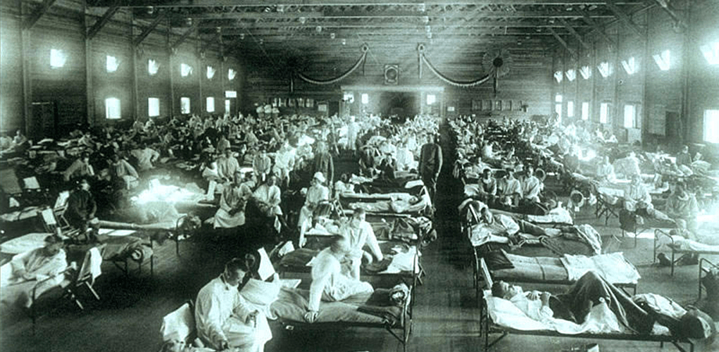Spanish flu hospital courtesy of the National Museum of Health and Medicine Armed Forces Institute of Pathology Washington D.C. United States. e1598007158610