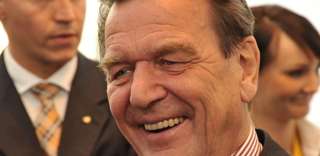 Gerhard Schroder beim Campus Symposium 2008