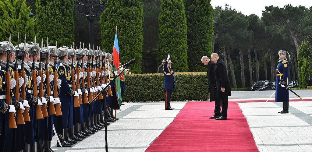 Visit of Recep Tayyip Erdogan to Azerbaijan 2020