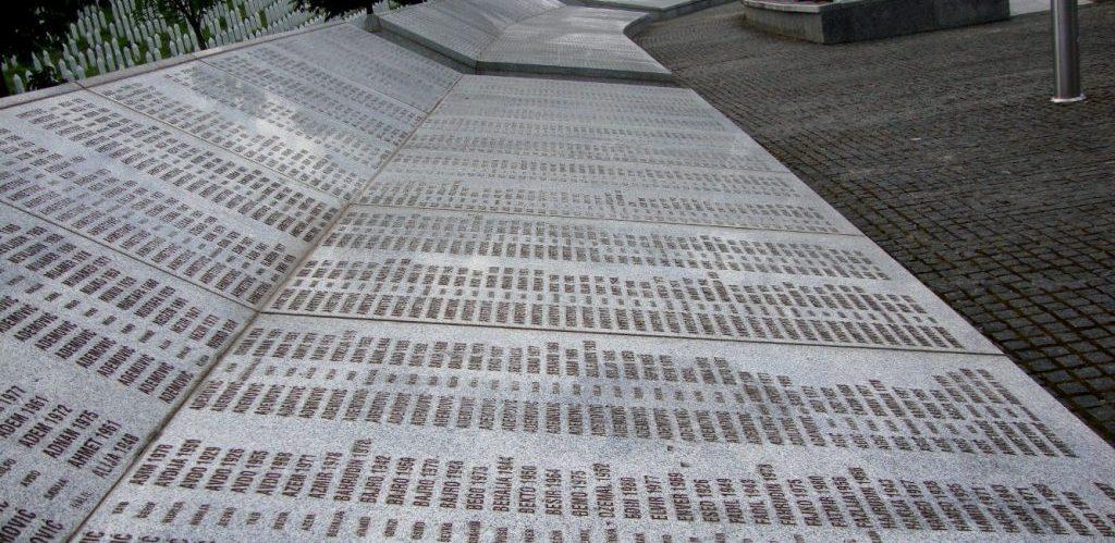 Srebrenica Memorial by Kisanova