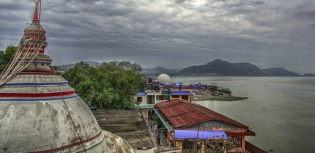 A River Festival on Brahmaputra River by Utpaljunak