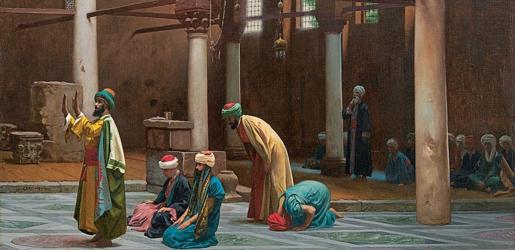 Jean Leon Gerome Prayers in the Mosque