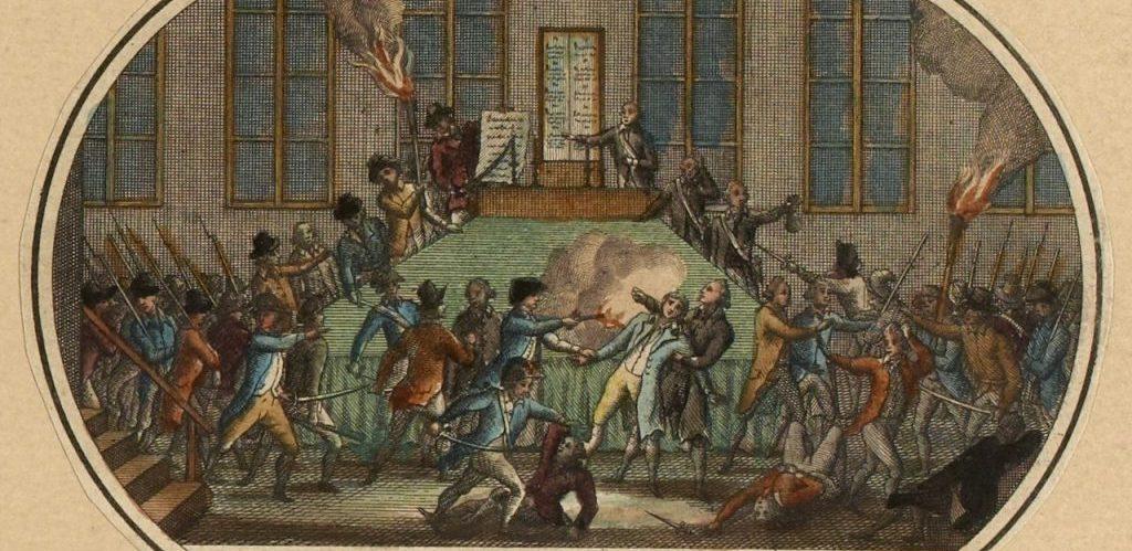 Attentat contre Robespierre a la Commune de Paris le 9 Thermidor an II 27 juillet 1794 Musee Carnavalet