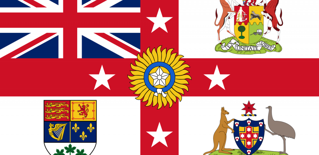 British Empire Exhibition Flag by UAmtoj