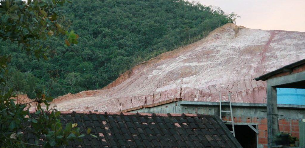 Deforestation in Atlantic Forest Rio de Janeiro Brazil by Alex Rio Brazil