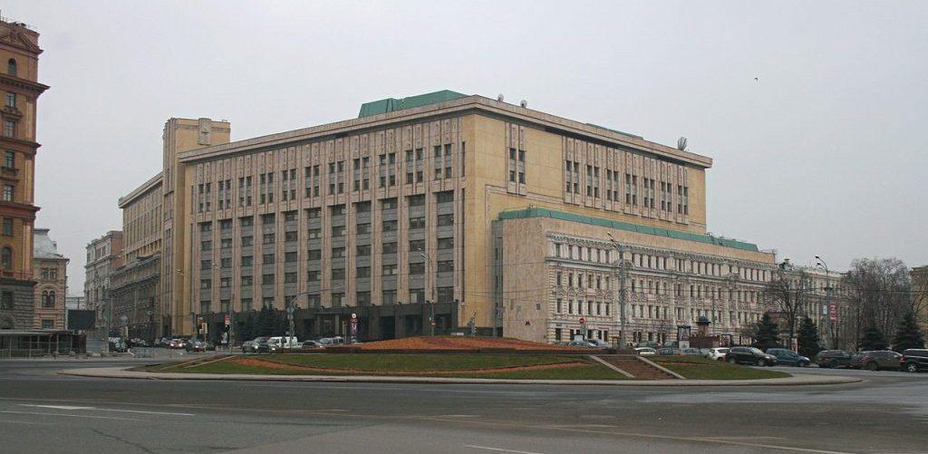 Лубянская площадь и здание вычислительного центра КГБ СССР, Macs24