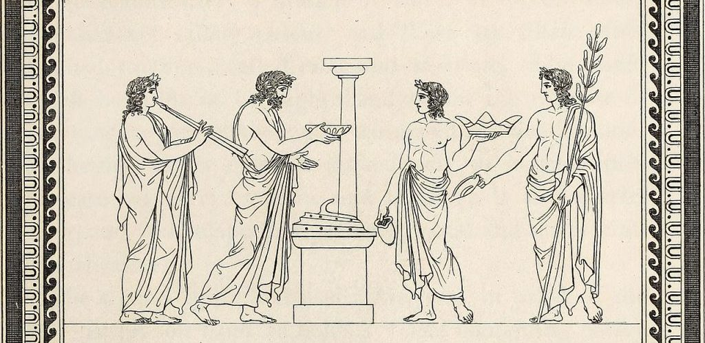 Outlines from the figures and compositions upon the Greek Roman and Etruscan vases of the late Sir William Hamilton