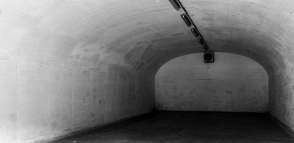 Bunker 23 int the former arsenal in the Dernekamp hamlet Kirchspiel Dulmen North Rhine Westphalia Germany by Dietmar Rabich