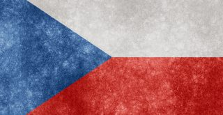 Czech Republic Grunge Flag Nicolas Raymond cr