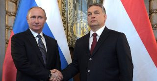 Vladimir Putin and Viktor Orbán The Russian Presidential Press and Information Office