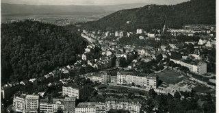 25529 Karlsbad 1930 Blick auf Karlsbad Bruck Sohn Kunstverlag