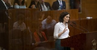 Investidura de Isabel Diaz Ayuso foto PP Comunidad de Madrid