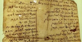 List of Jews Slaughtered by Cossacks Narol in 1648. Hebrew script 1648 by Danny w
